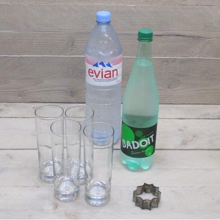 Assortiment de boissons soft
