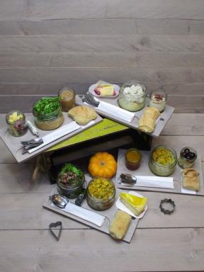 Plateaux repas zéro déchets, chauds ou froids